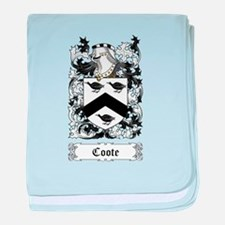 Coote baby blanket