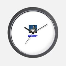 Cute Anthony weiner Wall Clock