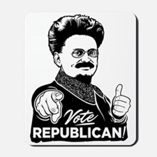 Trotsky Vote Republican Mousepad
