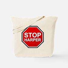STOP HARPER Tote Bag