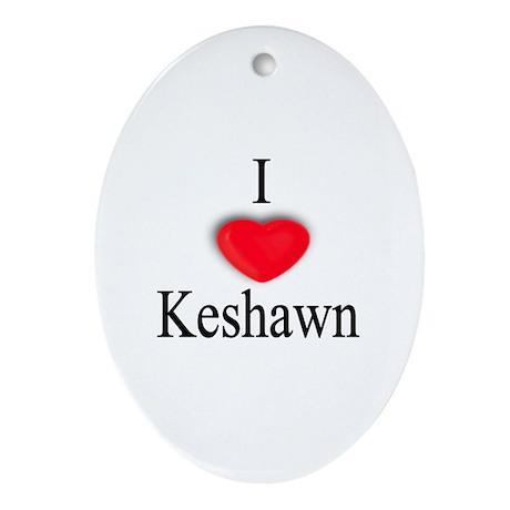 Keshawn Oval Ornament