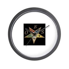 The OES Star Wall Clock