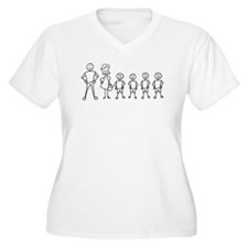 Stick Figure Family T-Shirt