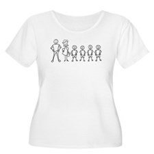 Stick Figure Family T-Shirt