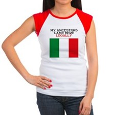 Italian Heritage Women's Cap Sleeve T-Shirt