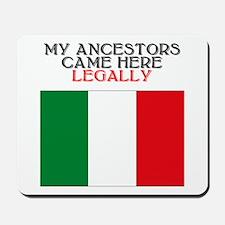 Italian Heritage Mousepad