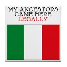 Italian Heritage Tile Coaster