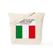 Italian Heritage Tote Bag