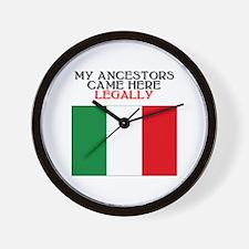 Italian Heritage Wall Clock