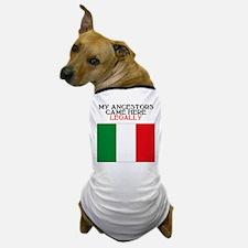 Italian Heritage Dog T-Shirt