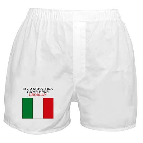 Italian Heritage Boxer Shorts