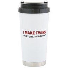I MAKE TWINS Thermos Mug