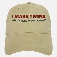 I MAKE TWINS Cap