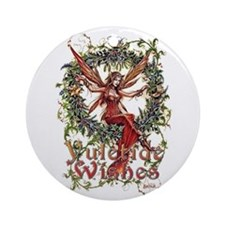 Cute Witches Ornament (Round)
