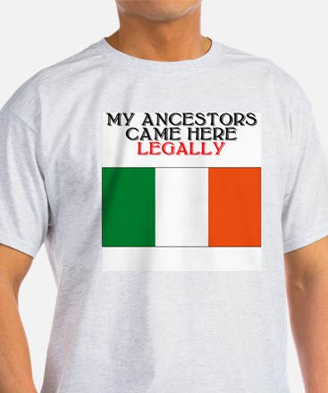 Irish Heritage Ash Grey T-Shirt