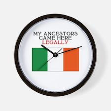 Irish Heritage Wall Clock