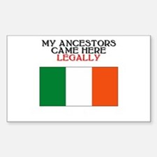 Irish Heritage Rectangle Bumper Stickers