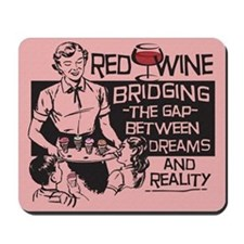 red wine Mousepad