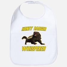 Honey Badger Whisperer Bib