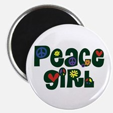 Peace Girl Magnet