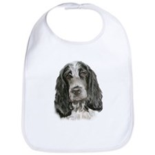 English Cocker Portrait Two Bib