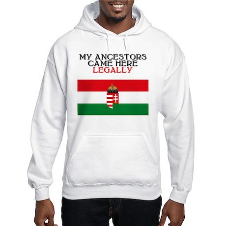 Hungarian Heritage Hooded Sweatshirt
