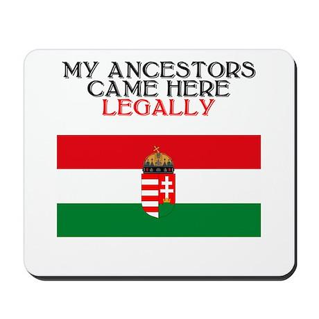 Hungarian Heritage Mousepad