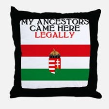 Hungarian Heritage Throw Pillow