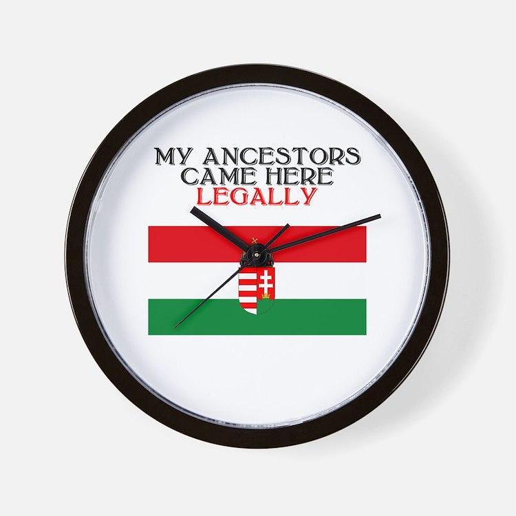 Hungarian Heritage Wall Clock