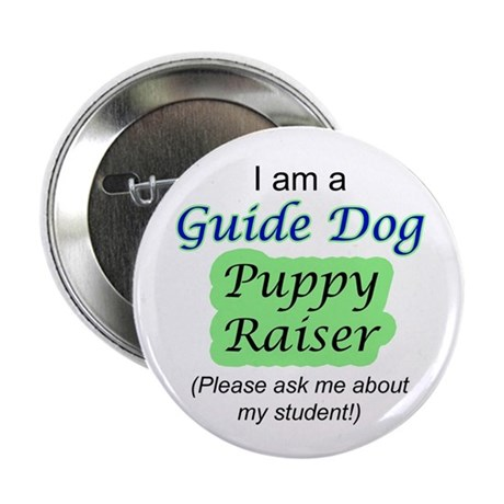 Guide Dog Puppy Raiser Button