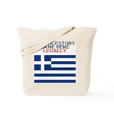 Greek Heritage Tote Bag