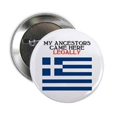 "Greek Heritage 2.25"" Button (10 pack)"
