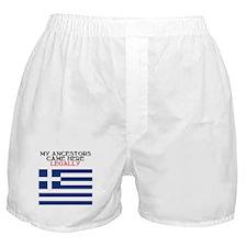 Greek Heritage Boxer Shorts