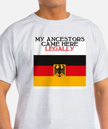German Heritage Ash Grey T-Shirt