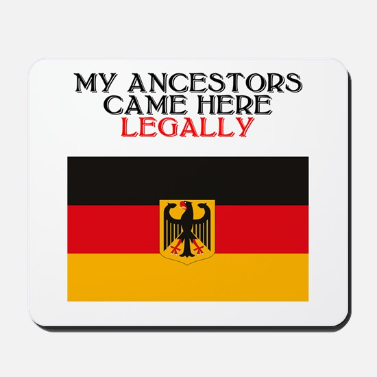 German Heritage Mousepad