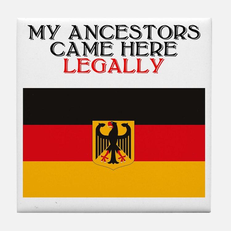 German Heritage Tile Coaster