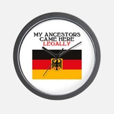 German Heritage Wall Clock