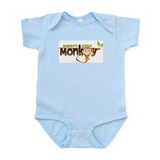 Daddy's Little Monkey Infant Bodysuit