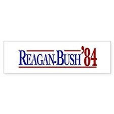 Reagan-Bush 84 Presidential E Bumper Sticker