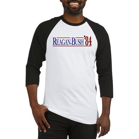 Reagan-Bush 84 Presidential E Baseball Jersey