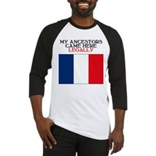 French Heritage Baseball Jersey
