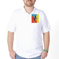 netball player jumping T-Shirt