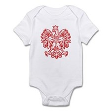 Polish Eagle Emblem Infant Creeper