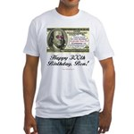 Ben Franklin Taxes Fitted T-Shirt