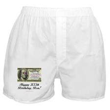 Ben Franklin Taxes Boxer Shorts