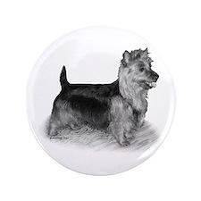 """Australian Terrier 3.5"""" Button"""