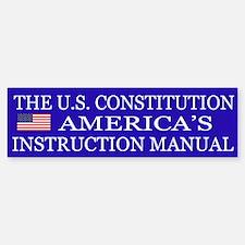 Preserve Constitution Bumper Bumper Sticker