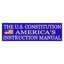 Preserve Constitution Car Sticker