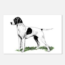 English Pointer Standing Postcards (Package of 8)