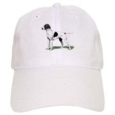 English Pointer Standing Baseball Cap